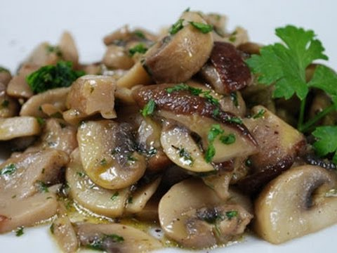mushrooms truffled