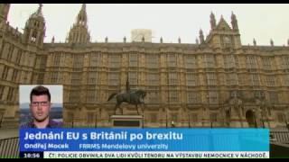 Jednání EU s Británií po brexitu
