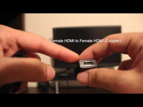 Connect HDMI devices using DVI & output sound using Bluetooth (Podoor T518 Android Demo)