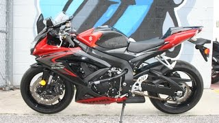 9. 2008 Suzuki GSX-R 750 ...  Very low miles!! Sounds great with Yoshimura Exhaust!
