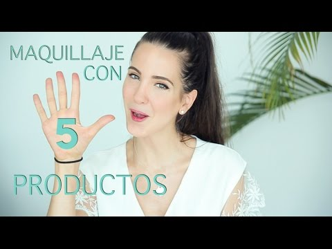 Maquillaje Rápido Y Sencillo Con Solo 5 Productos!!!!! | Peace And Vogue