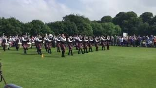 Belfast United Kingdom  City new picture : PSNI Pipe Band at the UK Pipe Band Championships 2016 Belfast