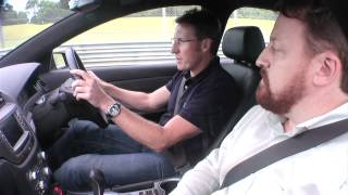 Test drive of the all-electric Holden Commodore prototype with Mark Skaife