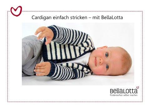 Cardigan einfach stricken – mit BellaLotta