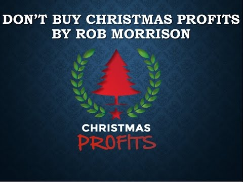 DON'T BUY Christmas Profits by Rob Morrison – Christmas Profits VIDEO REVIEW Binary Options
