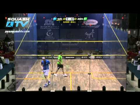 Squash : Ramy Ashour v James Wilstrop : PSA El Gouna Squash 2012- Final Round-up