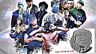 2015 NEW HIP HOP MIX RAW DEAL DJ DMAIK (BIATCH ASS)