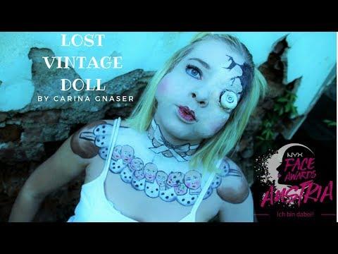 Vintage Doll - #FACEAWARDSAUSTRIA2018