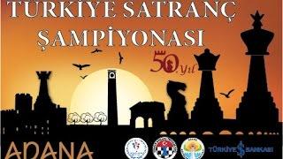 2015 Türkiye Satranç Şampiyonası Tur 10
