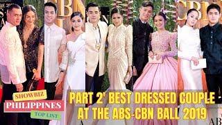 Video BEST DRESSED COUPLE ABS-CBN BALL 2019 PART 2 MP3, 3GP, MP4, WEBM, AVI, FLV September 2019