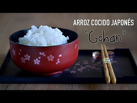 "Como Preparar Arroz  Japonés ""Gohan""- How To Cook Japanese Rice"