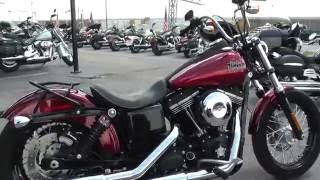 8. 323300 - 2013 Harley Davidson Dyna Street Bob FXDB - Used motorcycles for sale