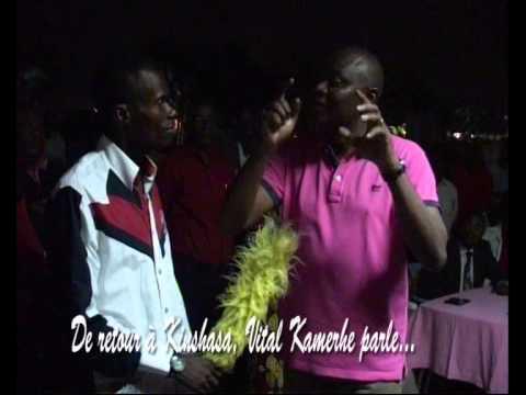 TÉLÉ 24 LIVE: De retour à Kinshasa, Vital Kamerhe parle de la vie sociale des congolais