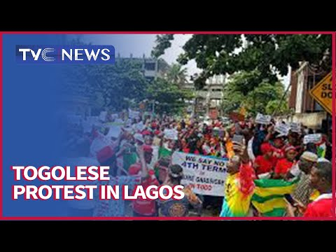 Togolese In Nigeria Protest Against President Faure Gnassingbe