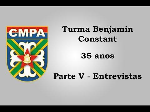 Turma Benjamin Constant (CMPA) 35 anos - Parte V