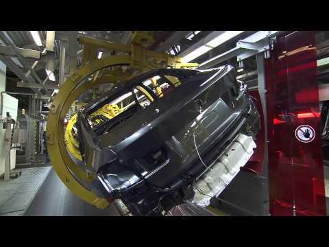 BMW超強製造過程,德國的高科技組裝太讚了!