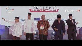 Video Ini Visi Misi Jokowi-Ma'ruf dan Prabowo-Sandi (Debat Pertama Pilpres 2019 - Bag 1) MP3, 3GP, MP4, WEBM, AVI, FLV Februari 2019