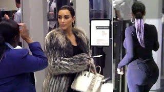 Kim Kardashian's Big Butt Is Cleared For Takeoff At LAX