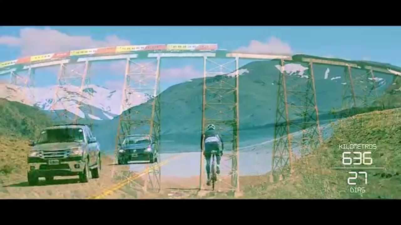 Evasión TV: ruta 40 en bicicleta // la ruta al fin del mundo