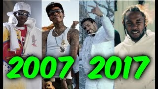 Video Most Popular Rap Songs of The Last 10 Years (2007-2017) MP3, 3GP, MP4, WEBM, AVI, FLV Juni 2018