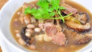 [Thai Food] Braised Pork With Peanut (Ka Mu Tom Tua)