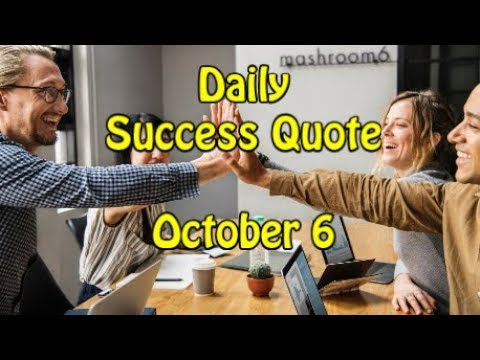 Success quotes - Daily Success Quote October 6  Motivational Quotes for Success in Life