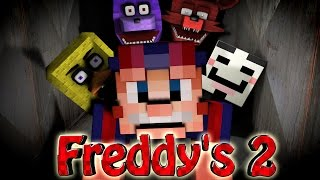 Minecraft   FIVE NIGHTS AT FREDDY'S 2 MOD Showcase! (5 Nights at Freddy's 2, Puppet Master)