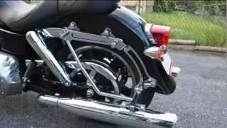 10. 2012 Harley Davidson Switchback FLD Vance Hines Duel Slash Twin Pipes