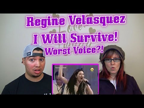 MOM SON REACTION I Will Survive Regine Velasquez At Her Worst Voice