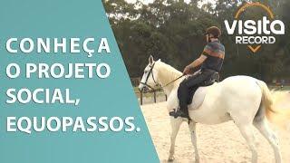 O projeto social, Ecopassos! :: Visita Record 13/07/19 ::