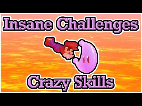 Jumpless Min Capture Types Highlights: Hardest Moons (Super Mario Odyssey)