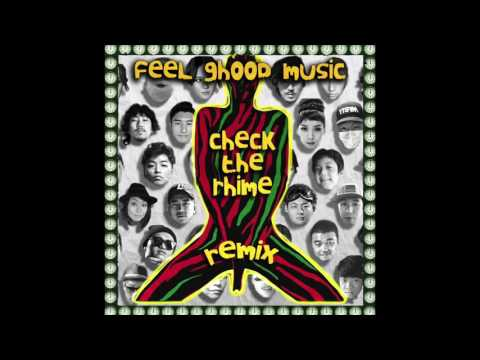 Feel Ghood Music - Check The Rhime Remix (ft. Junoflo, Yoonmirae, Ann One, Bizzy, Tiger JK)