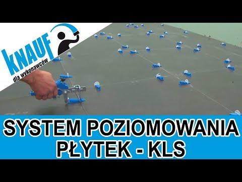 System poziomowania płytek podłogowych Knauf KLS