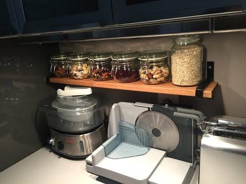 Fabrique tes étagères de cuisine / DIY BOIS