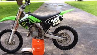 9. my new bike  (05 kx125)