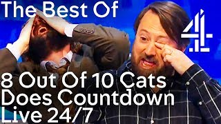 Video 8 Out Of 10 Cats Does Countdown Funniest Bits | 24/7 Live Stream MP3, 3GP, MP4, WEBM, AVI, FLV Mei 2018