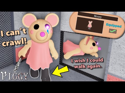 ROBLOX PIGGY... Sadly MOUSY CAN'T CRAWL ANYMORE!! | PIGGY Update