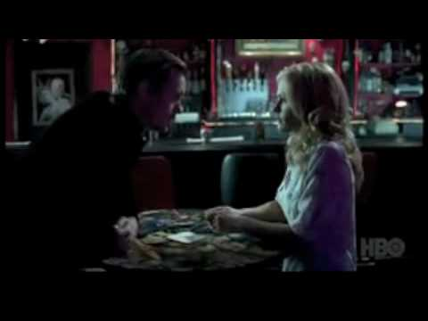 True Blood Season 3 Eric and Sookie at Fangtasia (HBO)