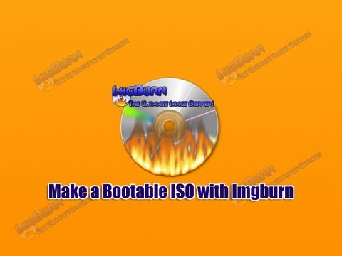how to create iso image