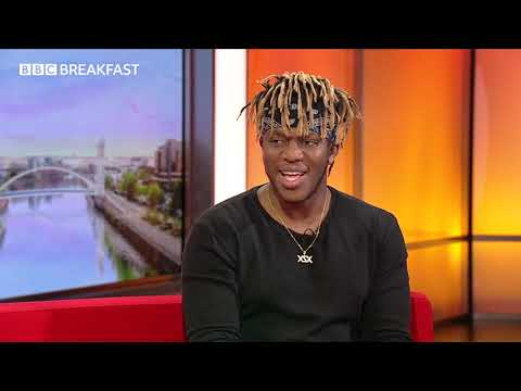 KSI on BBC Breakfast talks YouTube, music and boxing