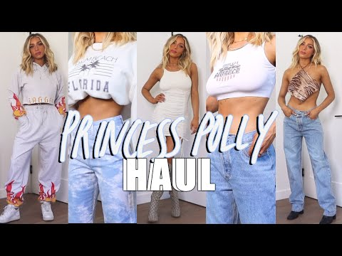 PRINCESS POLLY TRY ON HAUL | EDGY, CASUAL, COMFY
