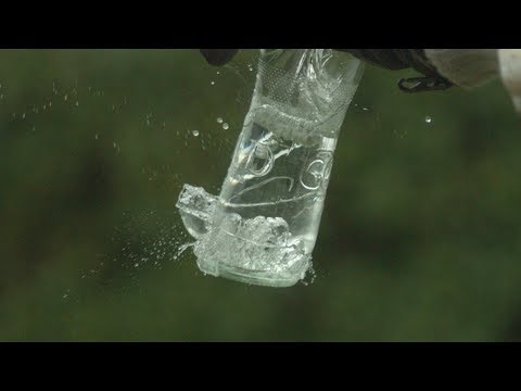 Beer Bottle Trick at 2500fps – The Slow Mo Guys