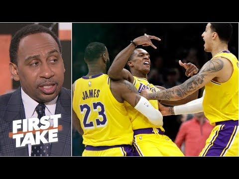 Rajon Rondo is a key piece for Lakers' playoffs hopes – Stephen A.  First Take