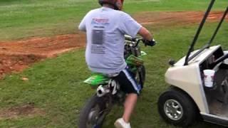 5. klx 110 143 backyard  pit bike track