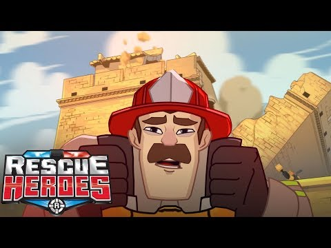 Rescue Heroes™ - Billy Blazes Gets Sick! | Episode 10 | Videos For Kids | Kids Heroes | Cartoon