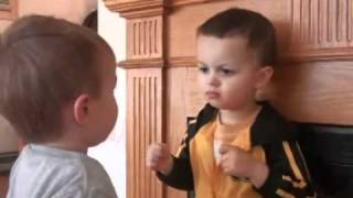 Cute Little Kid Friendly Fight
