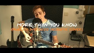 Video Axwell Λ Ingrosso - More Than You Know (Acoustic Cover) | David Alexander MP3, 3GP, MP4, WEBM, AVI, FLV Maret 2018