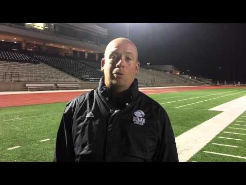 Butler head soccer coach Adam Hunter on Friday's 2-0 season-opening win over #2 Iowa Western.