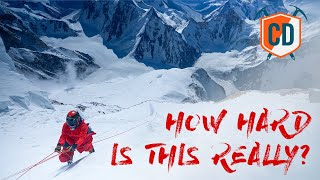 How Hard Is It To Climb An 8,000m Without Oxygen?  Climbing Daily Ep.1703 by EpicTV Climbing Daily