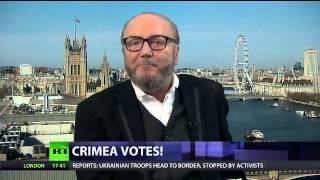 George Galloway debates Crimea - Crosstalk - Russia Today - 16th March 2014